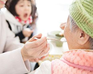 高齢者介護施設での利用例
